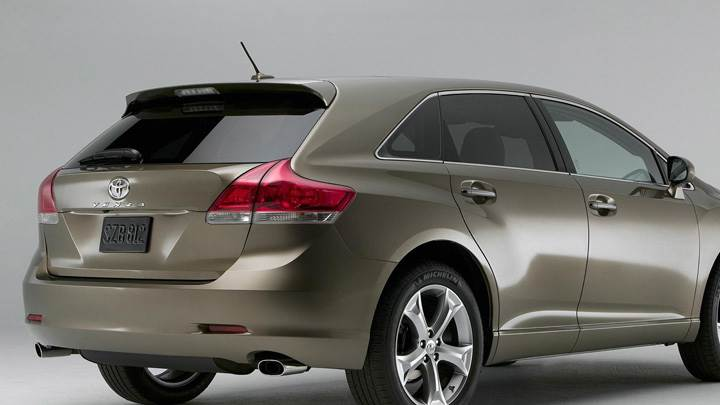 2009 Toyota Venza Side Back Pose N Grey Background